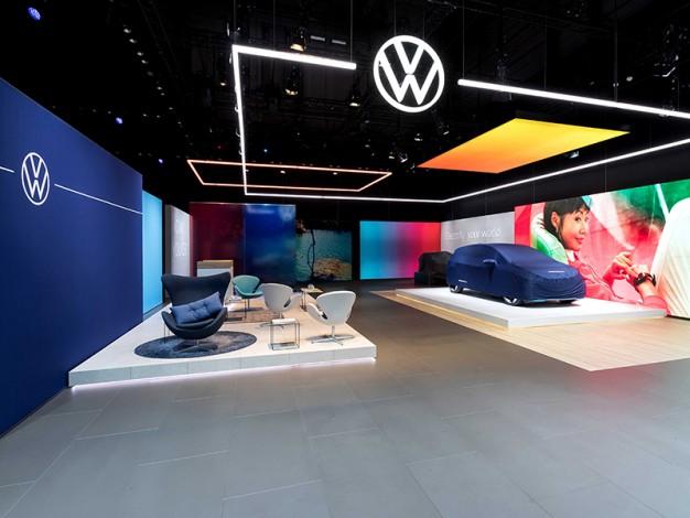 VW New Brand Design Branding design, Brand experience