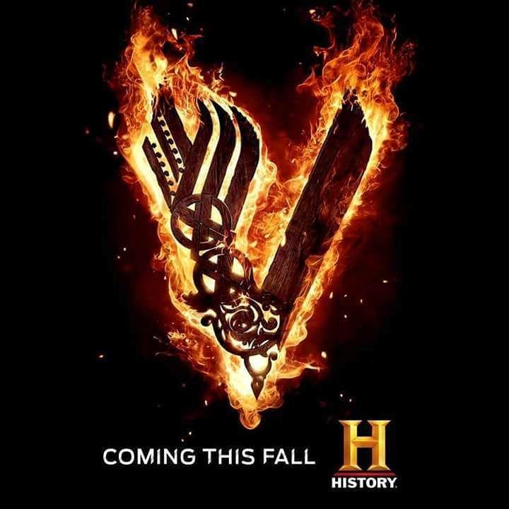 Vikings Official Poster Of Season 5 History Vikings Mit Bildern