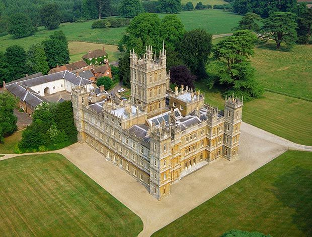 Visit the famous Highclere Castle, the real Downton Abbey ...