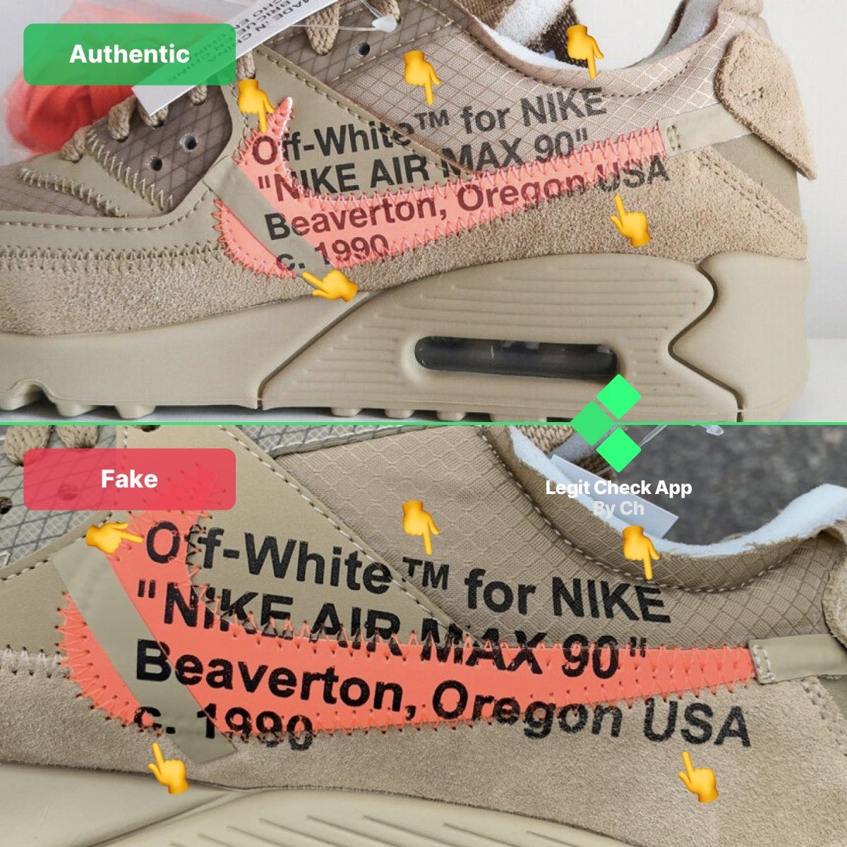 Off-White Air Max 90 Desert Ore