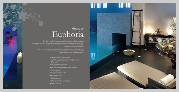 spa brochure design 04 Glen Eyrie Pinterest – Sample Hotel Brochure