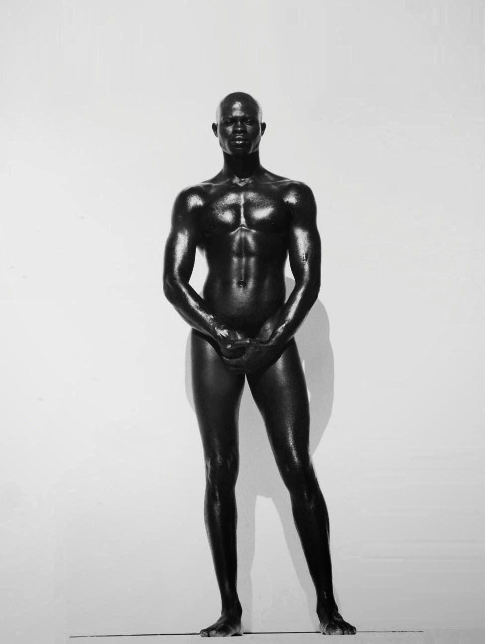 Djimon Hounsou by Herb Ritts, 1989