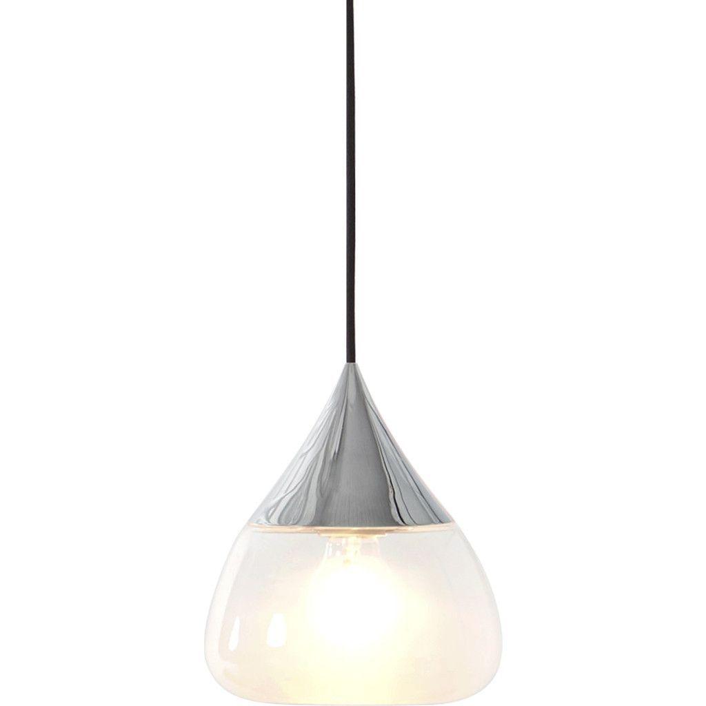Seed Design Mist Medium Pendant Lamp   Chrome