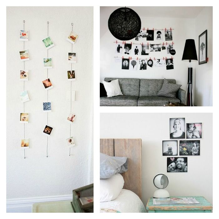 C mo decorar tus paredes con fotos con xito photo wall for Como decorar tu casa