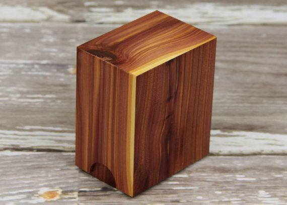 Magic The Gathering Custom Aromatic Cedar Deck Box Yughio
