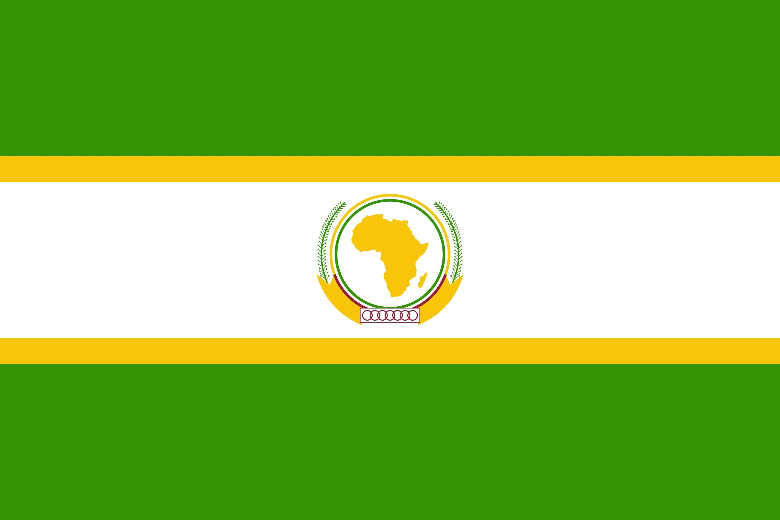 Au African Union Flag Eps Pdf African Union Union Flags Flags Of The World