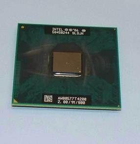 Intel Pentium dual core t4200 2x2,01Ghz