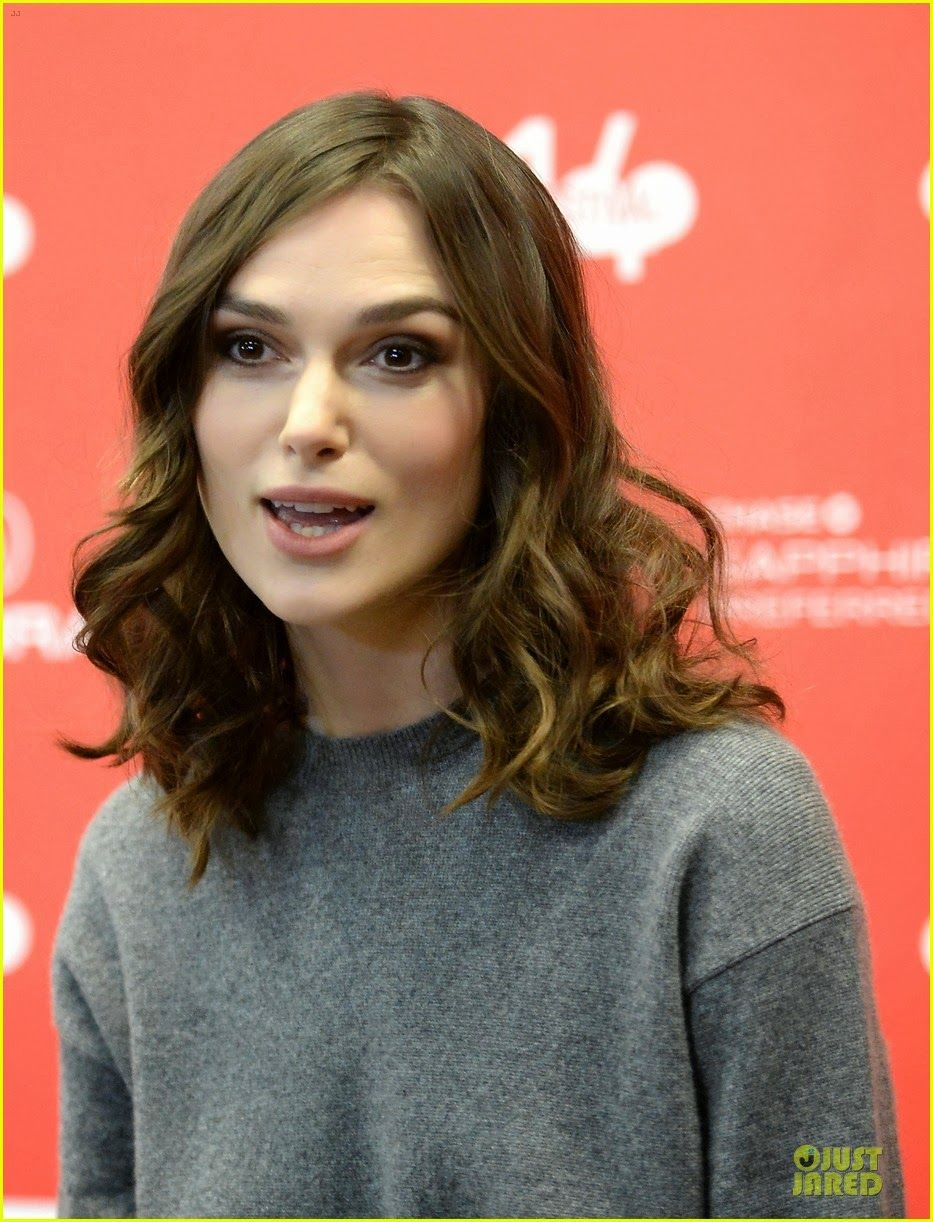 Celeb Diary: Keira Knightley attending the premiere of her film Laggies during the 2014 Sundance Film Festival