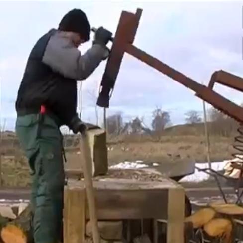 Homemade Manual Log Splitter Plans - Homemade Ftempo