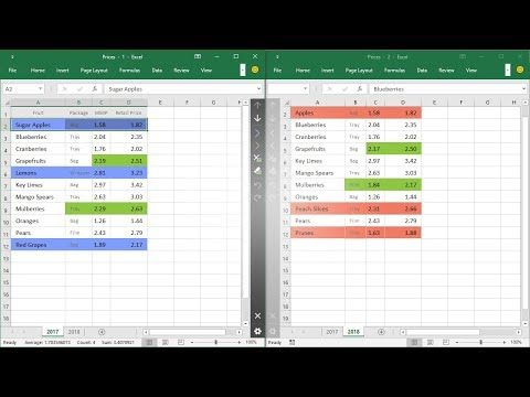 How To Compare Two Excel Files An Easy And Quick Way Compare Data In Two Excel Sheets Or Lists For Similarities And Differen Excel Comparing Data Worksheets