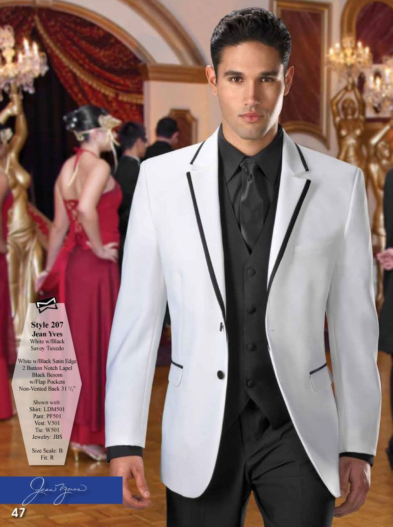 White with Black Savoy Tuxedo on Pinterest | Discover the best ...