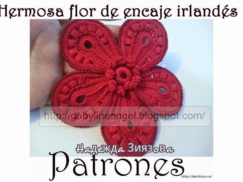 Atractivo Los Patrones De Crochet Irlandés Inspiración - Manta de ...