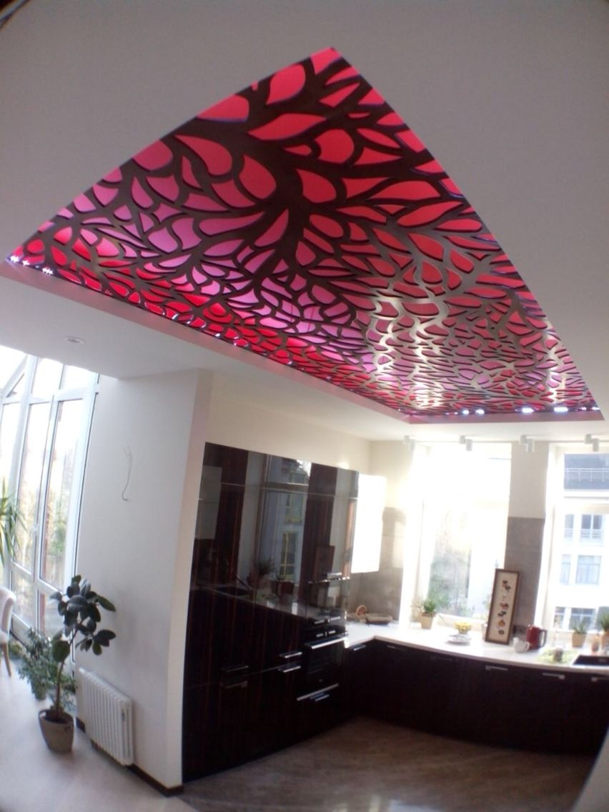 Ceiling design laser cut lazerr kesim tavan kaplama for Light house designs