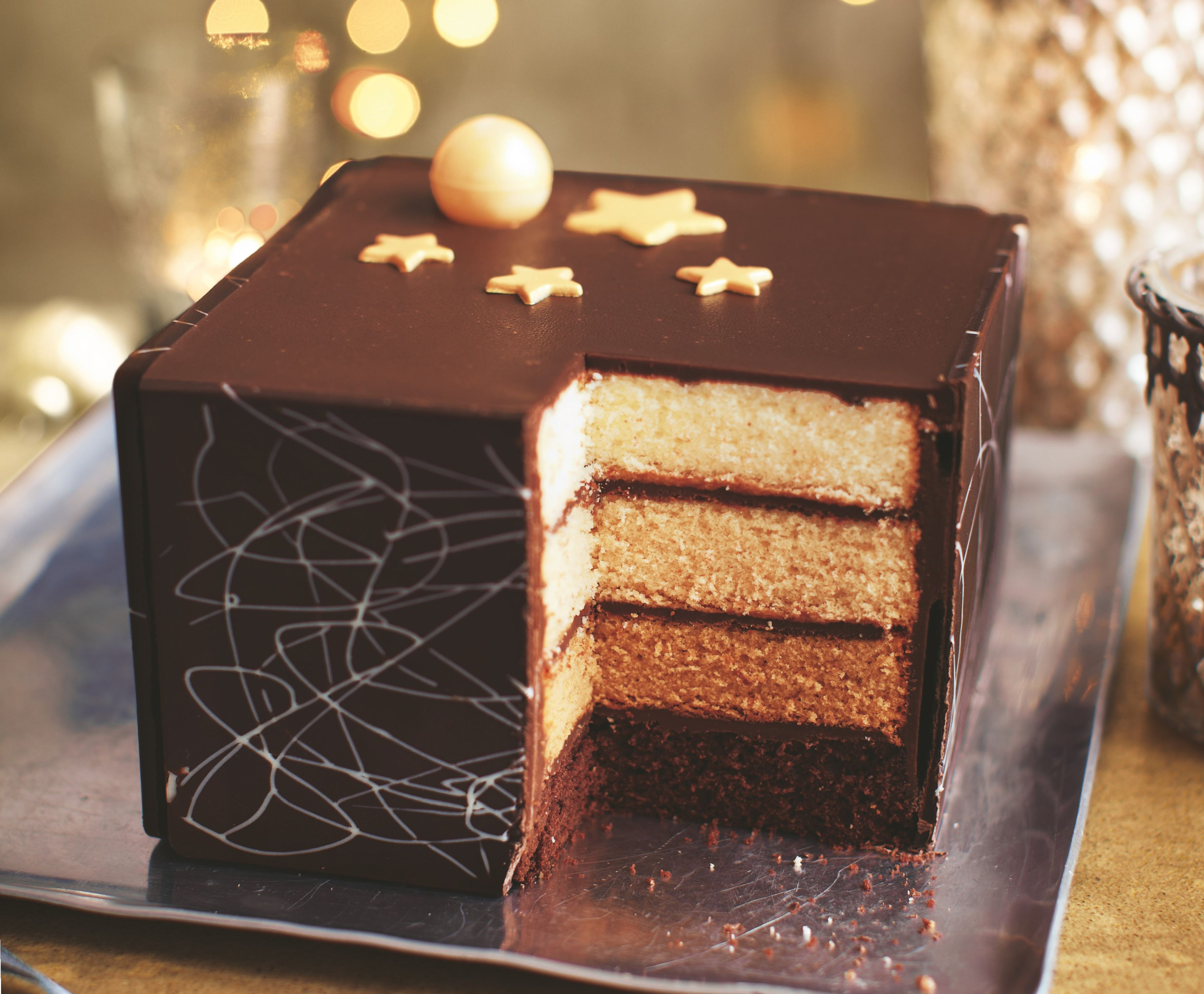 Asda Personalised Birthday Cakes In Store ~ Extra special belgian chocolate layer cake asda christmas