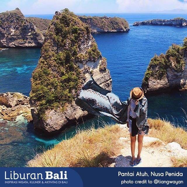 Dibawah Tebing Ini Ada Pantai Dengan Pasir Putih Nya Bali