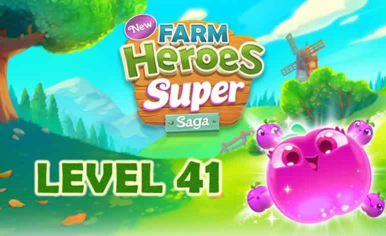 Farm Heroes SUPER Saga Level 41