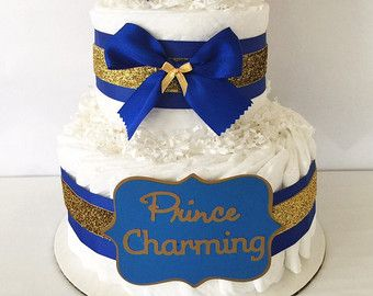 prince mini diaper cakes prince theme baby shower centerieces royal