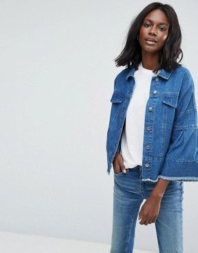 Jeans jacke asos