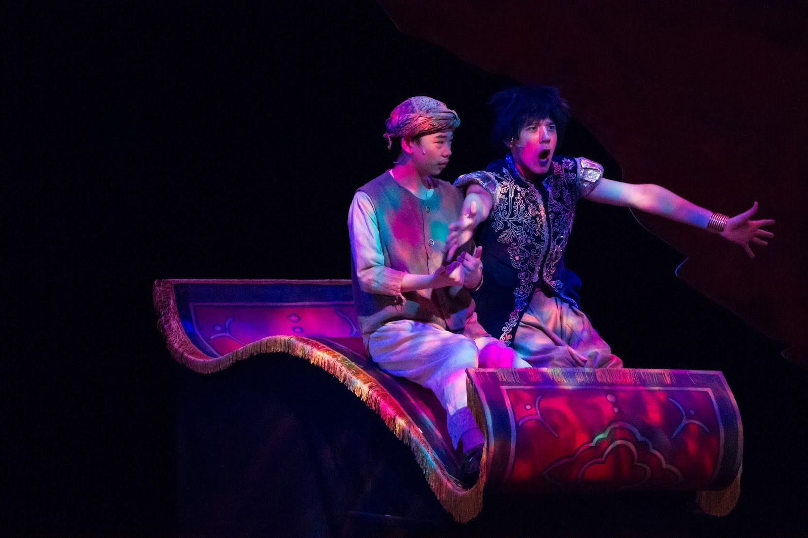 Aladdin Jr Magic Carpet Google Search Aladdin Musical Aladdin Costume Aladdin Magic Carpet