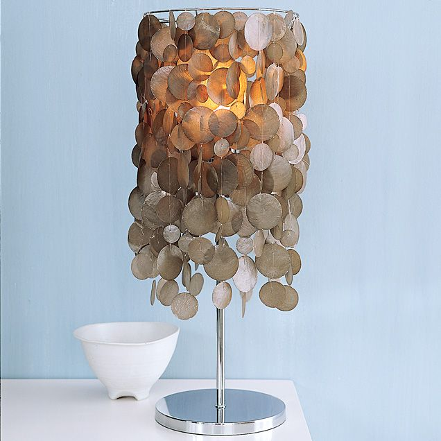Capiz shell table lamp by west elm httpwestelm home capiz shell table lamp by west elm httpwestelm aloadofball Images