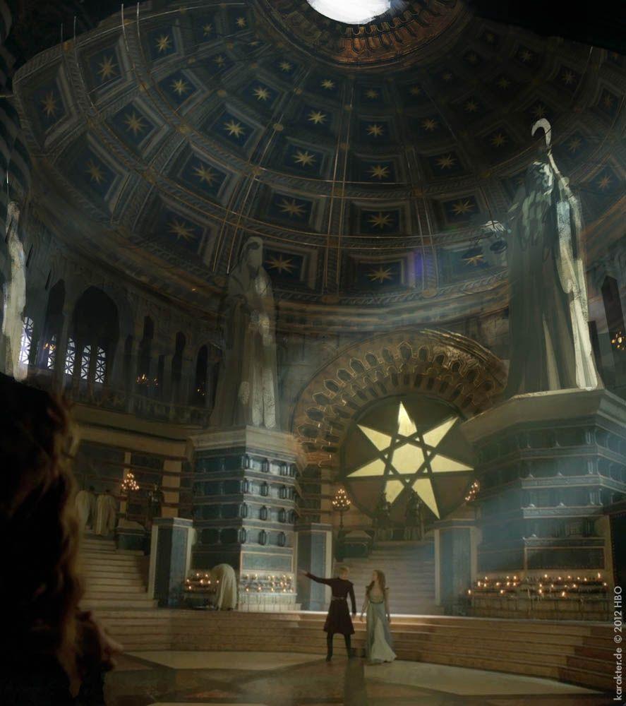 Sept Of Baelor Game Of Thrones Season 3 Concept Art From Karakter Design Studio Concept Art