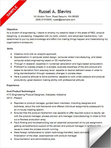 sample resume for medical assistant samples visualcv mechanical - example resume for medical assistant