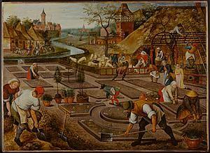 TEFAF Maastricht - Pieter Breughel the Younger - Spring - 41.9 x 57.2 cm