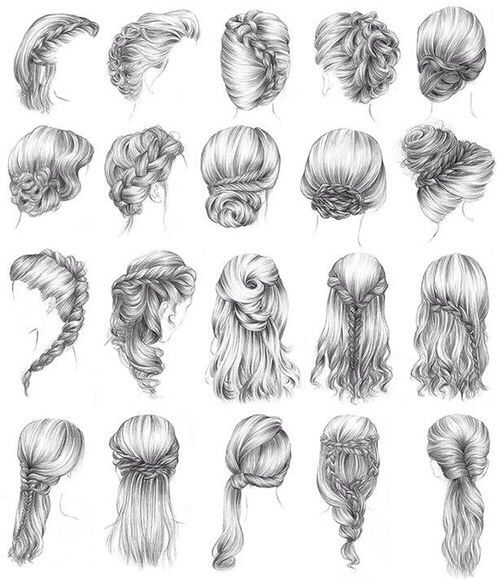 I can't even do these in real life haha Coiffure cheveux