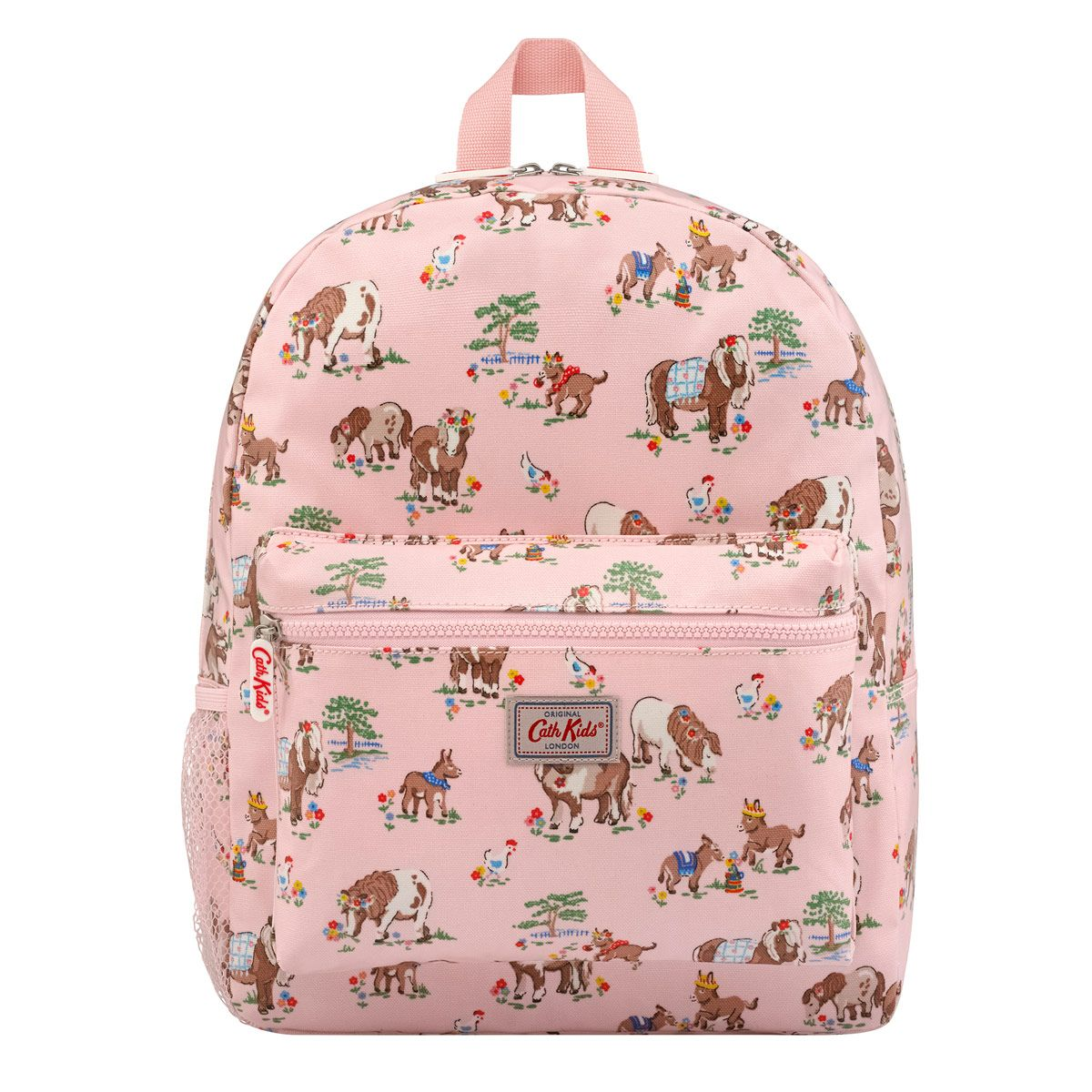 5efe07c120234 Shetland Ponies Kids Padded Rucksack with Mesh Pocket | horses ...