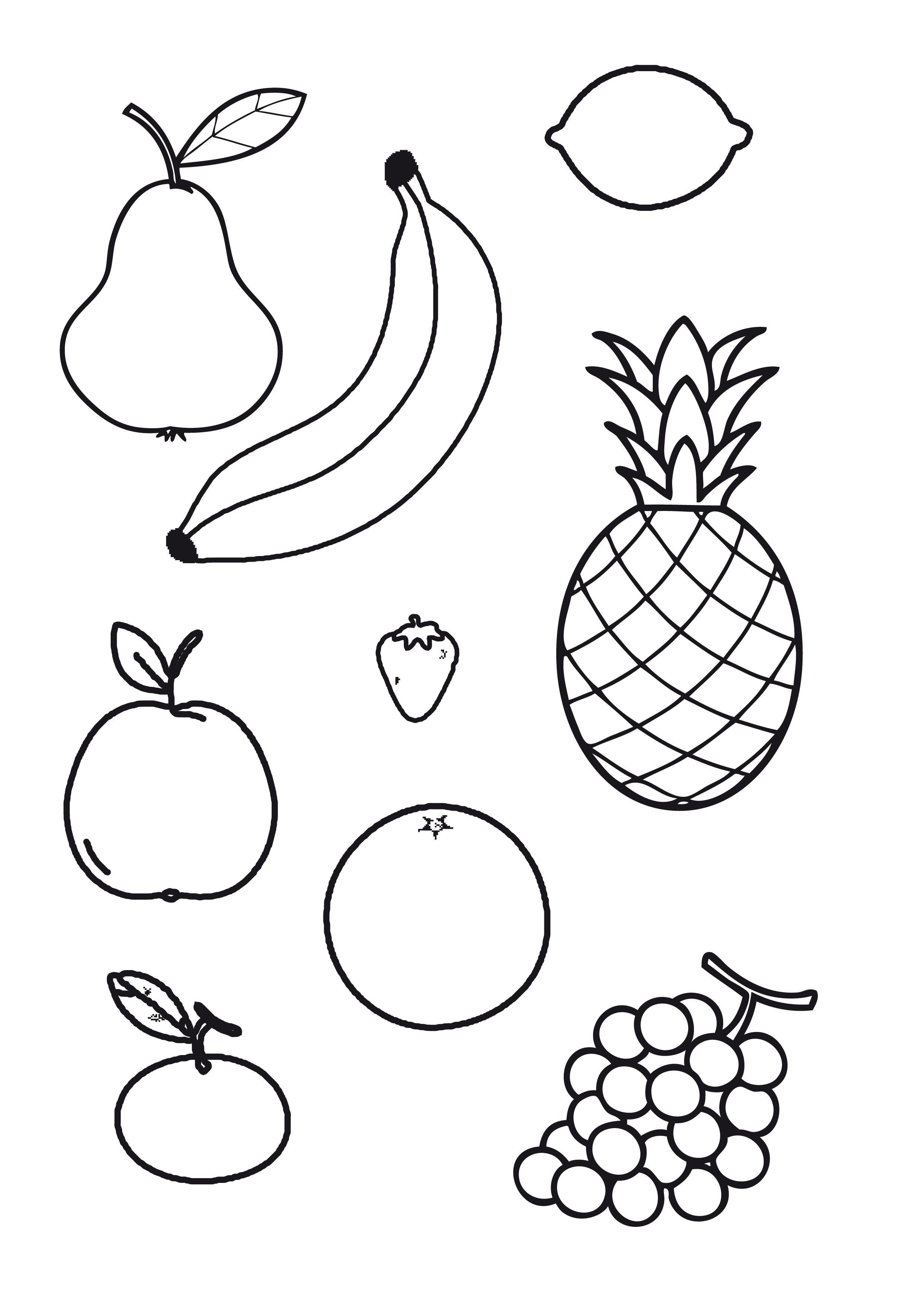 een fruitmandje maken voor puk thema hatsjoe fruit