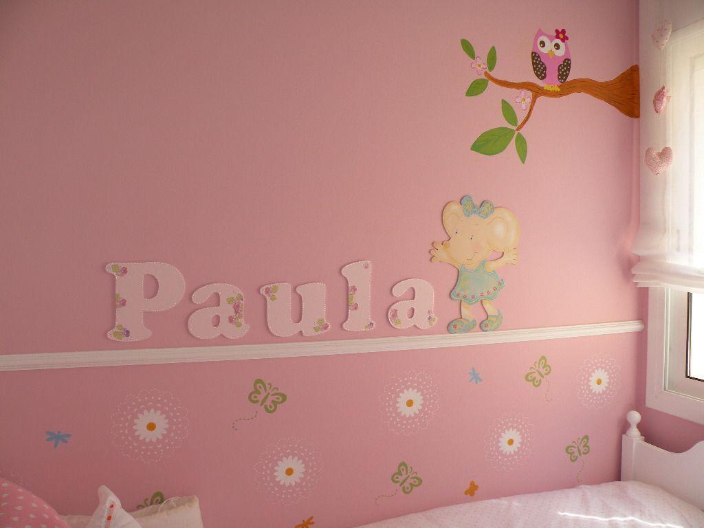 Un Mural Para Paula Es Divertido Decorar Una Habitacion Infantil Hay Mil Ideas Esta Es Parte De La Habitacion De Mi Hija Nursery Letters Kids Room Nursery