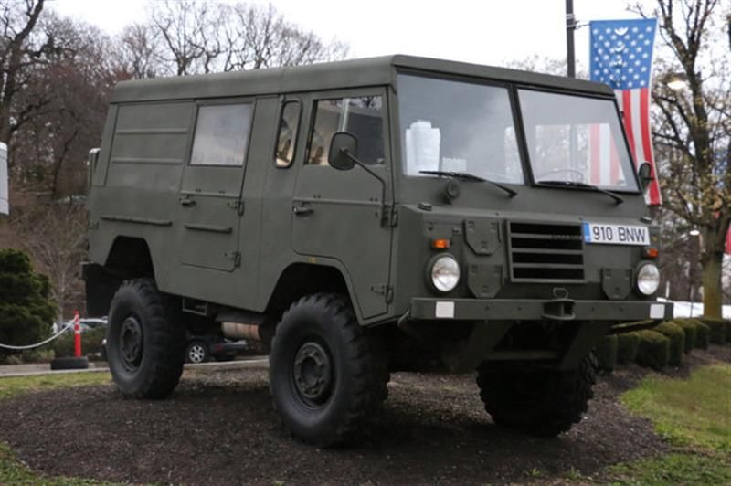 1975 Volvo C303 Tgb11 4x4 Military Truck 25 495 By Magnusson