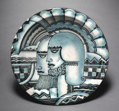 cowan pottery deco