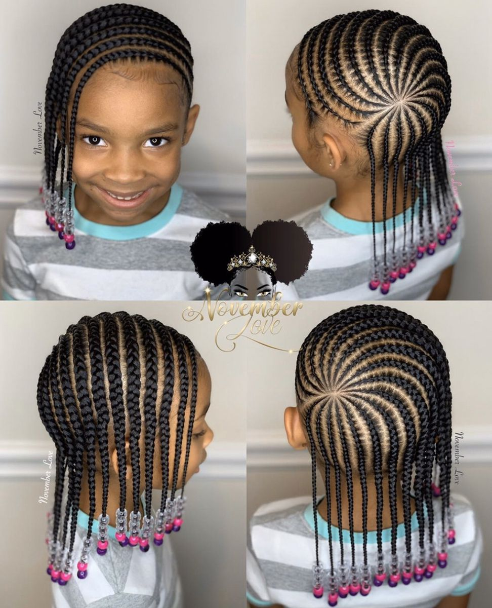 Pin By Keyoshe Montague On Baby Toddler Hairstyles Braids For