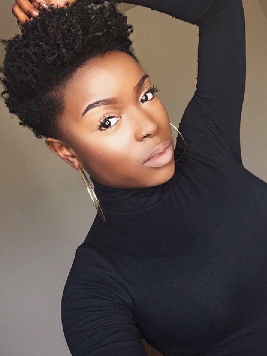 Short Natural Afro Hairstyles This Makes Me Want To Cut My Hair Again Cool Natural Haircuts