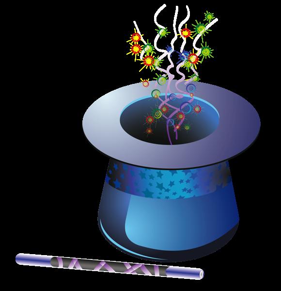 New Year Magic Hat Png Clipart Magic Hat Free Clip Art Clip Art