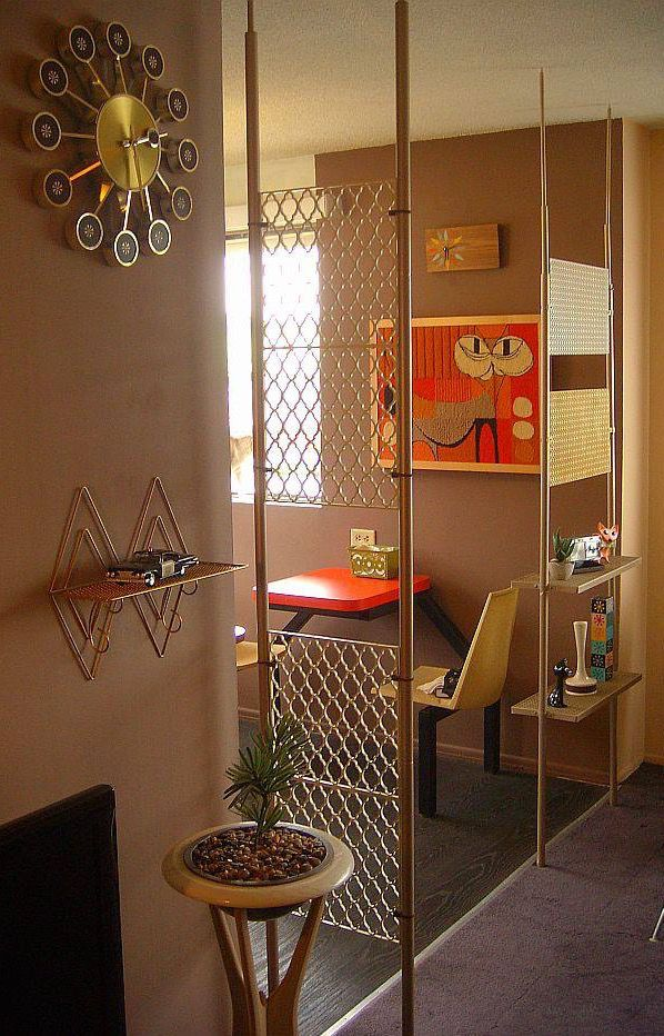 Image result for mid century design wall dividers