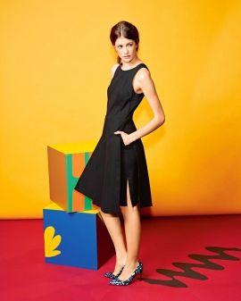 Сукня з декольте на спинці | BurdaStyle.ua: Мода, Дизайн, Рукоділля, Викрійки