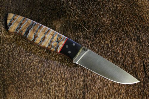 Custom Nordic Knife Enzo Full Tang Puukko Scandi Knives By L C Patrick Knife Bushcraft Knives Nordic