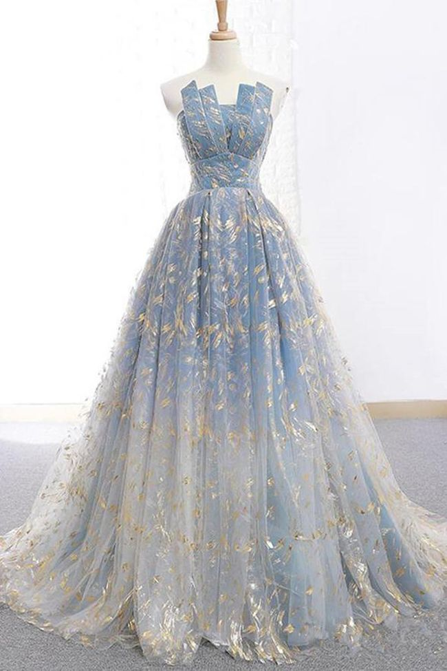 New 2019 Gold Lace Ball Gown Long Wedding Prom Dresses Quinceanera Formal Dress LD1729 -   19 dress Quinceanera gold ideas