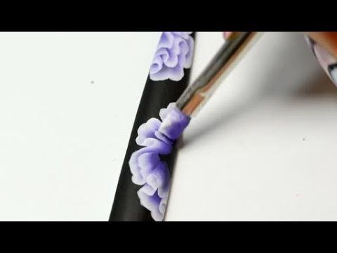 Nail Art Training Flower One Stroke Practice For Beautiful Floral