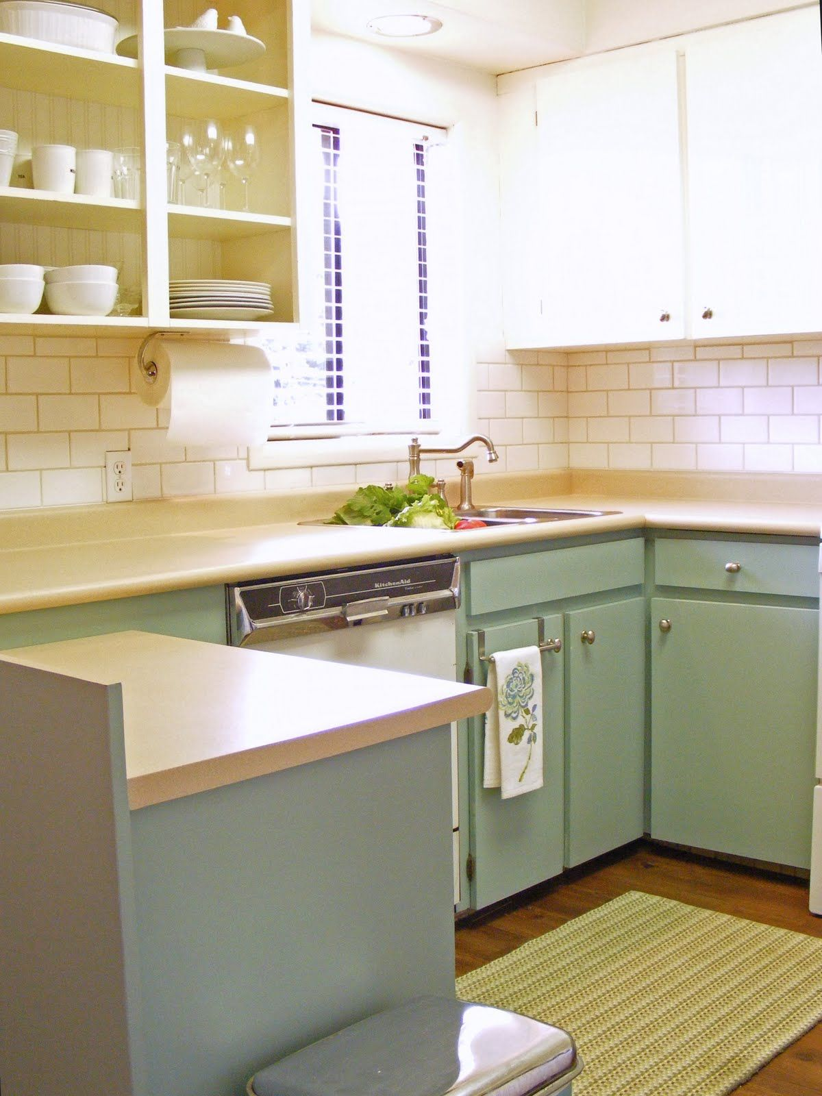 Great idea for a quick and cheap kitchen update! | home sweet home ...