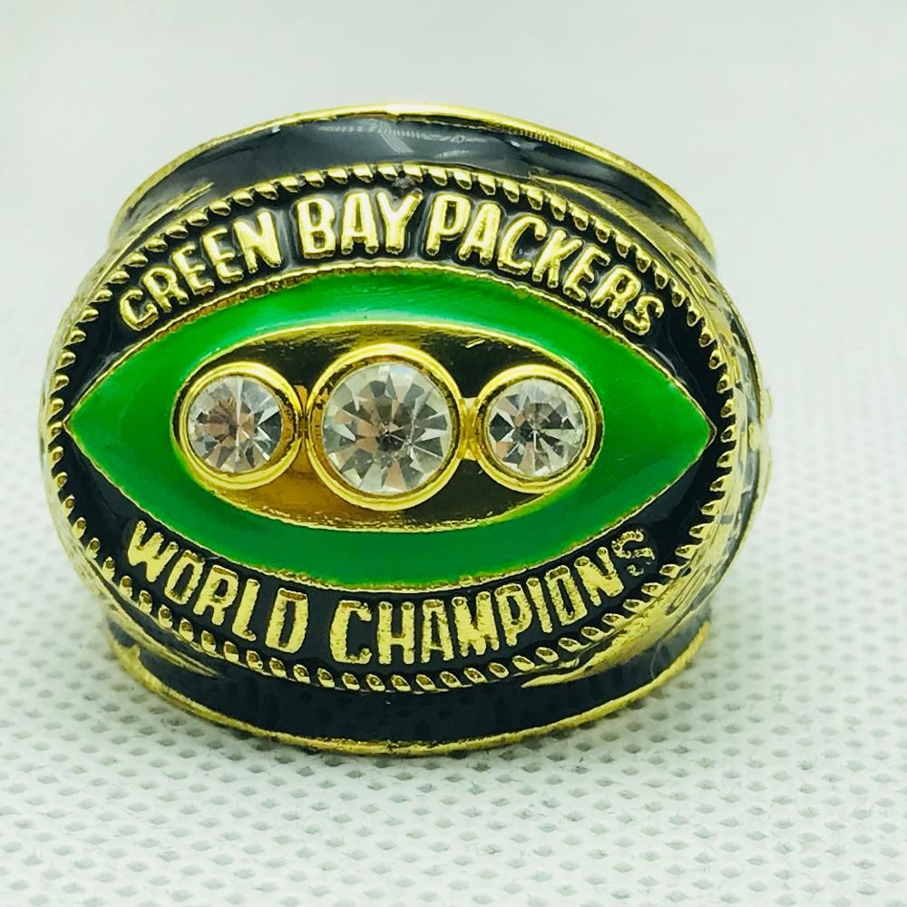 2010 Green Bay Packers Super Bowl Championship Ring 18k Heavy Gold Plated Usa In 2020 Packers Super Bowl Super Bowl Green Bay Packers