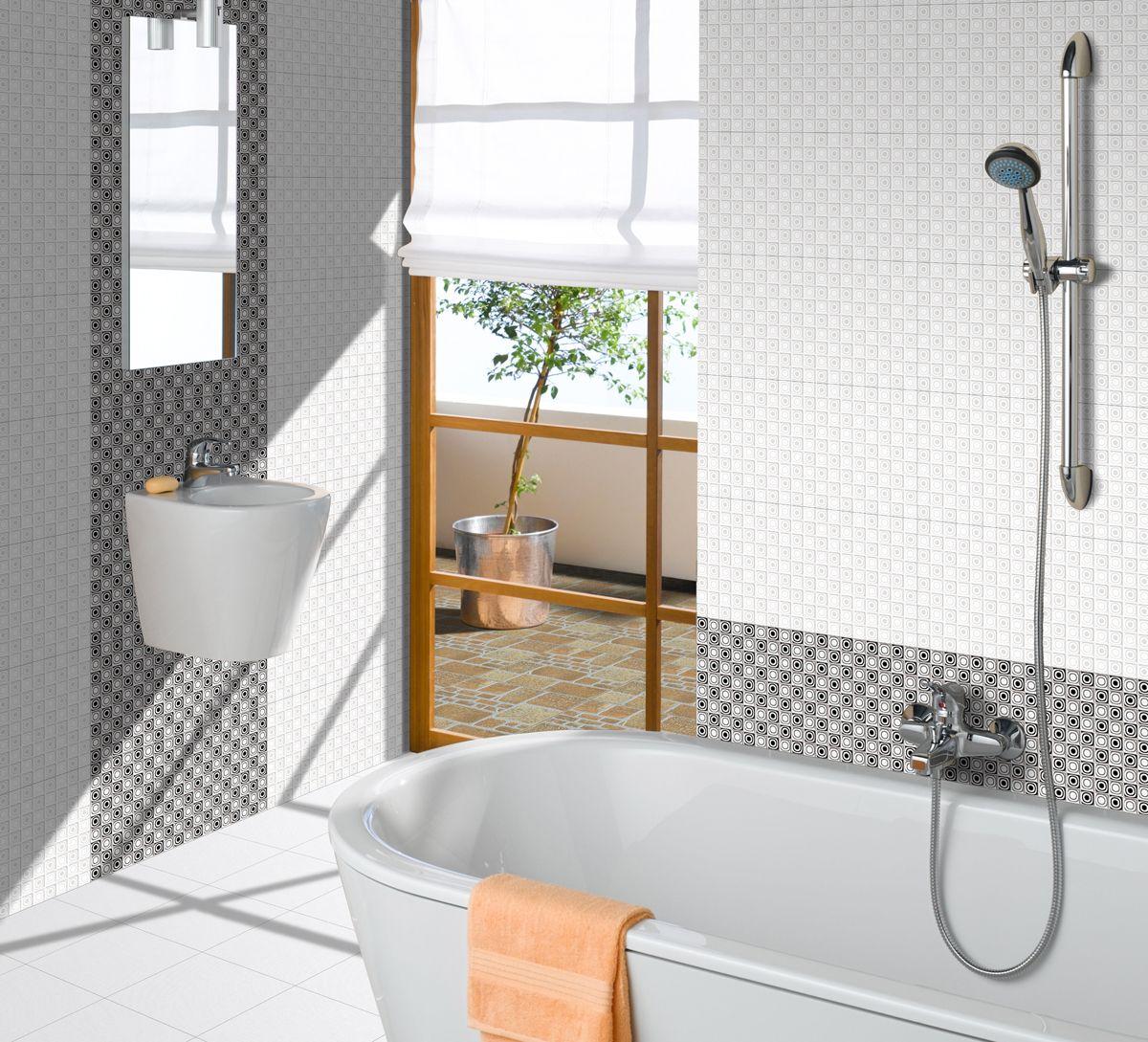 New Designs of Orient Bathroom Tiles - http://www.orientbell.com ...