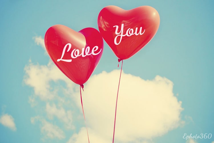Make Love Cards With Balloons Love Cards Hearts Online Love Balloon