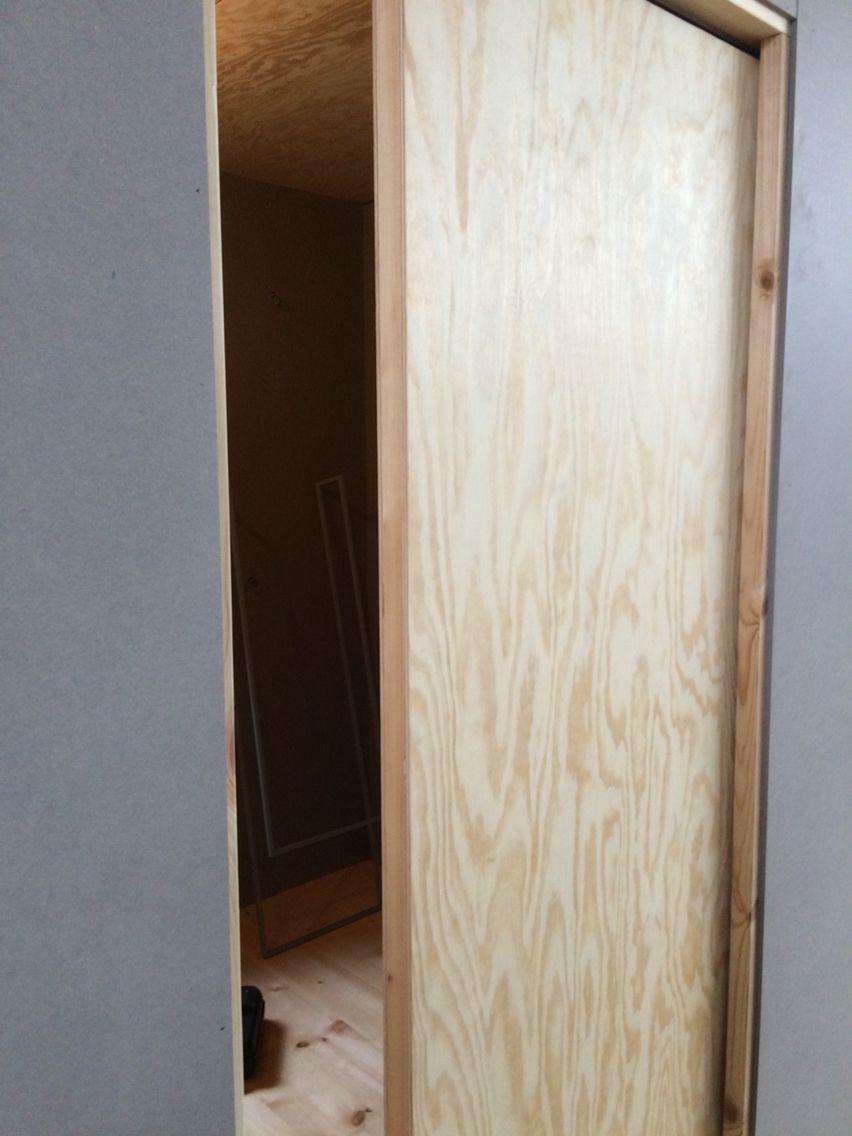 Inredning skjutdörrar utomhus : Skjutdörr plywood. Bra till sovhytter. | Haverdal Interiör ...