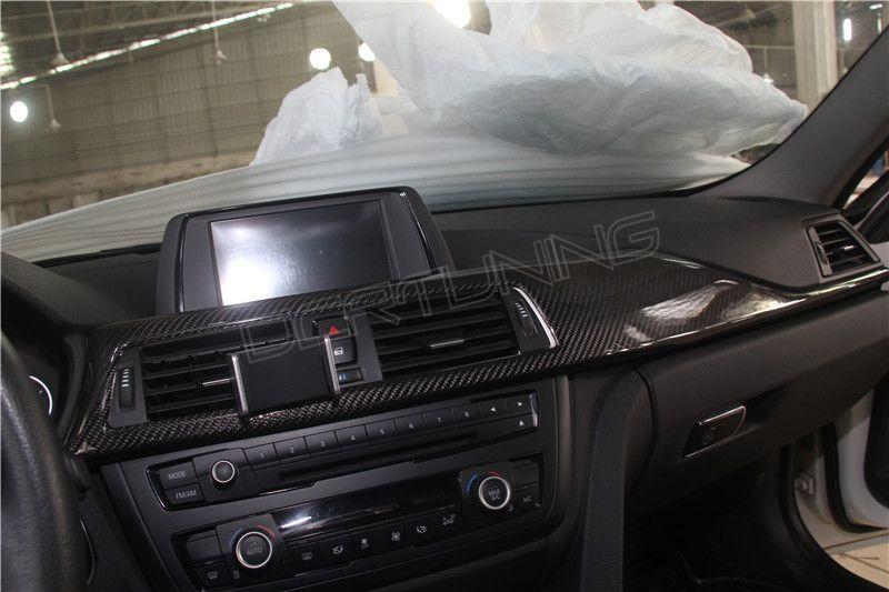 Bmw F30 Interior Carbon Fiber F32 F33 F36 Fit Lhd Only 8 Pcs