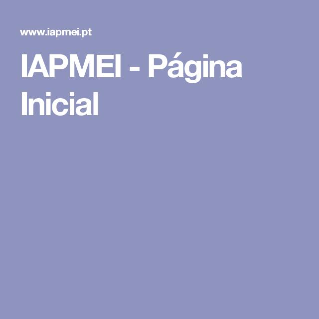 IAPMEI - Página Inicial
