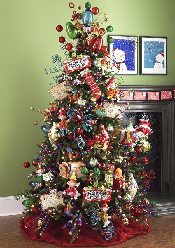 2013 postmark christmas tree 1 rbol de navidad - Arboles de navidad decorados 2013 ...