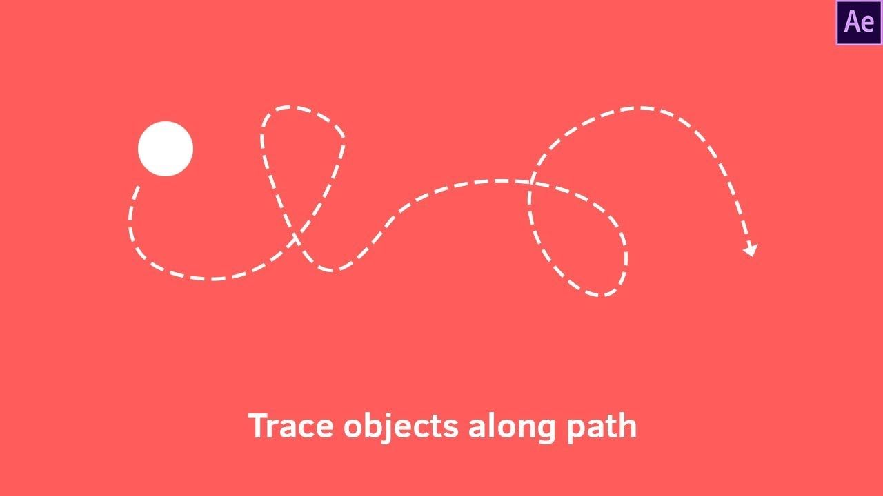 Moving Objects Along Path Motion Graphics After Effects Tutorial